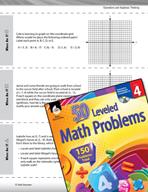 Operations and Algebraic Thinking Leveled Problems: Coordi