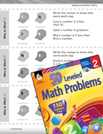 Operations and Algebraic Thinking Leveled Problems: Use Cl