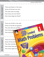 Operations in Base Ten Leveled Problem: Problem Solving -