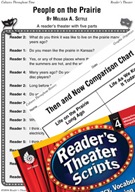 People on the Prairie Reader's Theater Script and Lesson