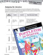 Poppleton in Winter Leveled Comprehension Questions (Great