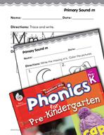 Pre-Kindergarten Foundational Phonics Skills: Primary Sound m