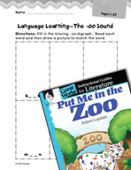 Put Me in the Zoo Language Learning Activities (Great Work