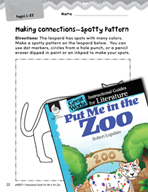 Put Me in the Zoo Making Cross-Curricular Connections (Gre