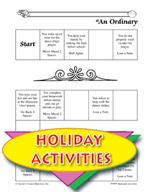 Ramadan Activities -  An Ordinary Day Game Instructions an