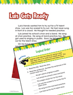 Read and Succeed Comprehension Level 1: Logical Order Pass