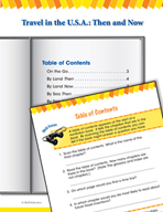 Read and Succeed Comprehension Level 2: Table of Contents