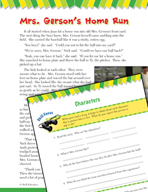 Read and Succeed Comprehension Level 4: Characters Passage