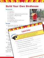 Read and Succeed Comprehension Level 4: Logical Order Pass