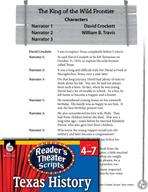 Reader's Theater Texas: Davy Crockett