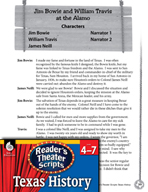 Reader's Theater Texas: Jim Bowie and William Travis at the Alamo