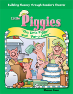 "Reader's Theater - ""This Little Piggy"" and ""Pat-a-Cake"""