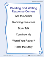 Reading and Writing Response Centers for Grades K-2