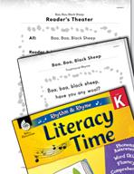 Rhythm and Rhyme Literacy Time: Activities for Baa, Baa, B