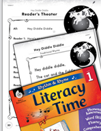 Rhythm and Rhyme Literacy Time: Activities for Hey Diddle Diddle