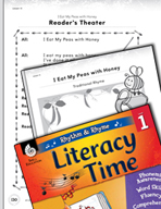 Rhythm and Rhyme Literacy Time: Activities for I Eat My Pe