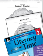 Rhythm and Rhyme Literacy Time: Activities for I Had a Kite