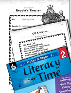 Rhythm and Rhyme Literacy Time: Activities for Old King Cole