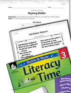 Rhythm and Rhyme Literacy Time: Activities for Old Mother Hubbard