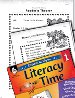 Rhythm and Rhyme Literacy Time: Activities for Three Littl