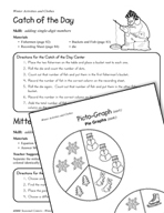 Seasonal Learning Centers - Winter Activities and Clothes
