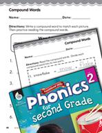 Second Grade Foundational Phonics Skills: Compound Words