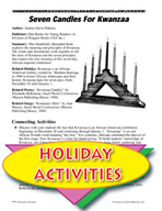 Seven Candles For Kwanzaa Literature Unit