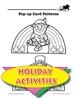St. Patrick's Day Activities - Pop-Up Card Patterns and Ot
