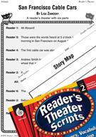 Story Elements-San Francisco Cable Cars Reader's Theater S