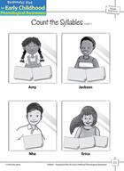 Syllable Awareness: Segmenting Words into Syllables - Coun