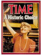 TIME Magazine Biography - Geraldine Ferraro