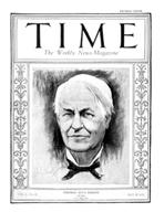 TIME Magazine Biography - Thomas Edison