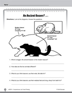 Test Prep Level 1: An Ancient Beaver? Comprehension and Cr