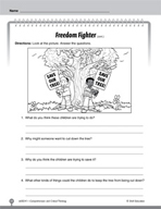 Test Prep Level 1: Freedom Fighter Comprehension and Criti