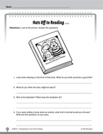 Test Prep Level 1: Hats Off to Reading! Comprehension and