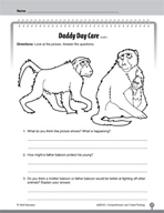 Test Prep Level 2: Daddy Day Care Comprehension and Critic