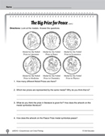 Test Prep Level 2: The Big Prize for Peace Comprehension a