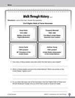 Test Prep Level 2: Walk Through History Comprehension and