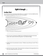 Test Prep Level 5: Eight Is Enough Comprehension and Criti