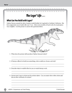 Test Prep Level 5: The Lego® Life Comprehension and Critic