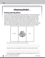 Test Prep Level 6: A Democracy Divided Comprehension and C