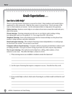 Test Prep Level 6: Grade Expectations Comprehension and Cr