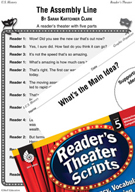 The Assembly Line Reader's Theater Script and Lesson