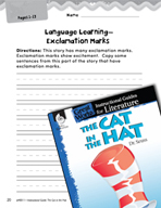The Cat in the Hat Language Learning Activities (Great Wor