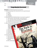 The Dark Is Rising Comprehension Assessment (Great Works Series)