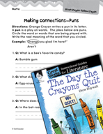 The Day the Crayons Quit Making Cross-Curricular Connectio