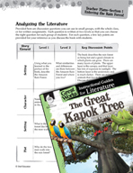 The Great Kapok Tree Leveled Comprehension Questions (Grea