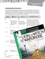 The Lion, the Witch and the Wardrobe Leveled Comprehension