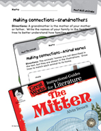 The Mitten Making Cross-Curricular Connections (Great Work