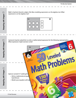 The Number System Leveled Problems: Computing with Integers